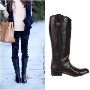 GUC Frye Melissa Button Black Boot - Size 7